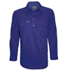 Picture of Hard Slog Mens Half Placket Light Cotton Shirt