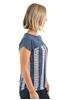 Picture of Wrangler Women's Myra Print Short Sleeve Top