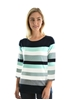 Picture of Thomas Cook Womens Sue Stripe 3/4 Sleeve Top