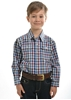 Picture of Thomas Cook Boys Mitchell Check Long Sleeve Shirt