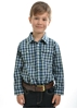Picture of Thomas Cook Boys Beaufort Check Long Sleeve Shirt