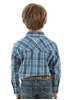 Picture of Pure Western Boys Brady Check Long Sleeve Shirt