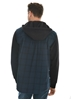Picture of Pure Western Men Barnett L/Sleeve Check Hoodie