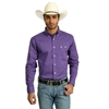 Picture of Wrangler Mens Western Classic Print Long Sleeve