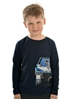 Picture of Thomas Cook Boy Ute and Dog L/S Navy