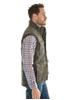 Picture of Thomas Cook Men Yanda Faux/Oil Vest Mulch