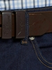 """Picture of RMW Drover 1 1/2"""" Belt Choc"""