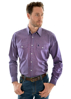 Picture of Thomas Cook Mens Henley Check L/S Shirt