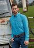 Picture of Wrangler Men's Del Monte Print Button Down L/S shirt