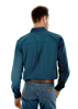 Picture of Wrangler Men's Denver Print Button Down L/S Shirt