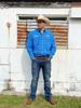 Picture of Wrangler Men Western Ford Logo 2 Pocket L/Sleeve Blue