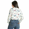 Picture of Wrangler Women Fashion Floral Long Sleeve Shirt