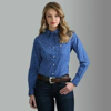 Picture of Wrangler Women's George Strait For her Long Sleeve