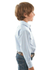 Picture of Pure Western Boys Bulls Head Long Sleeve Shirt
