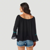 Picture of Wrangler Women's Retro Long Sleeve Off The Shoulder