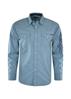 Picture of Wrangler Men Russell Print Long Sleeve Shirt