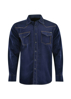 Picture of Wrangler Men Rock 47 Anson Long Sleeve Navy