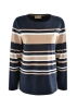 Picture of Thomas Cook Women's Gingin Stripe L/Sleeve Top