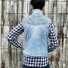 Picture of Pure Western Ladies Valerie Denim Vest
