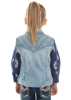 Picture of Pure Western Girls Valerie Denim Vest